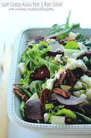 Asian pear beet salad