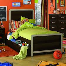 Kids Bedroom For Boys Modern Sports Kids Room Designs Inspiration Stunning Orange