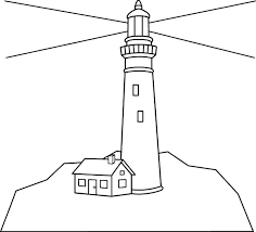 Small Picture Lighthouse Shine in the Dark Coloring Pages Download Print