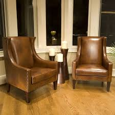 janie faux leather accent chair quick ship furniture macy s regarding brown leather accent chair decorating