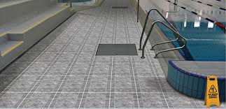 presenting five attractive anti skid and anti slip floor tiles options for your bathrooms