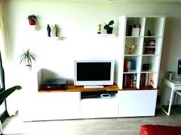 stand table bench black brown lack unit ikea tv with storage cabinet glass doors