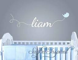 baby name wall decor initial for nursery decals ideas on wood letters hobby lobby boy gorgeous decorating