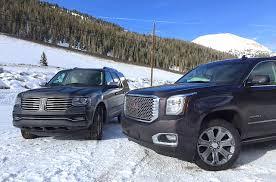 2015 Lincoln Navigator v. GMC Yukon XL Denali v. Extreme Towing ...