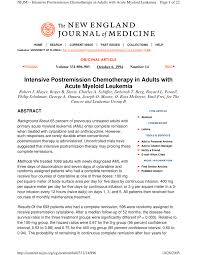 Prognostic Factors In Acute Myeloid Leukaemia Bob Löwenberg