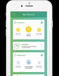 Features Evergreen Life Personal Health Record App