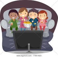 kids watching tv at night. pin tv clipart watch movie #2 kids watching at night a