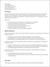 Professional Membership On Resumes Chamber Of Commerce Director Resume Template Best Design Tips