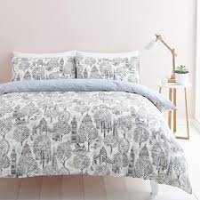 london toile bedding set