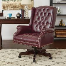 C Work Smart Deluxe High Back Traditional Executive Chair