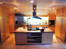the track backlighting of the kitchen working zone