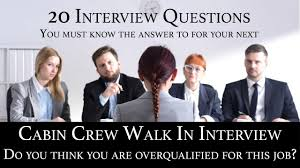 Cabin Crew Recruitment Interview Q A 17 Do You Think You Are