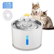 <b>Автоматическая поилка</b>-<b>фонтан</b> для домашних животных (2,4 л ...