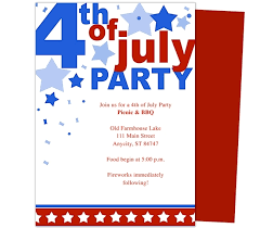 patriotic invitations templates 4th of july invitation templates 9 best images of july 4th party 4th