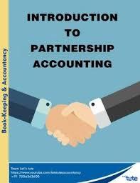 Checking Accounts Introduction To Partnership Accounting