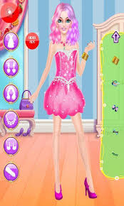 ВАrВie dress up games makeup princess fashion spa screenshot 1