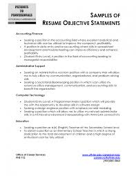 Sample Resume General Objective Qualifications Resume General Objective Examples For Customer 22
