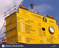 St Andrews leaderboard 2005 British ...