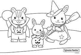 Sylvanian Families Colouring Pages Page 3 Auto Electrical Wiring