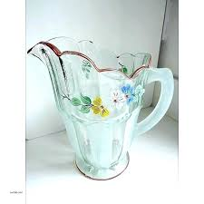 large glass jugs with cork the home ideas jug vases creative vase vintage art hand painted large glass bottle