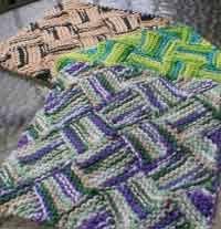 Free Knitting Patterns For Dishcloths Mesmerizing Over 48 Free Knitted Dishcloths Knitting Patterns At AllCraftsnet