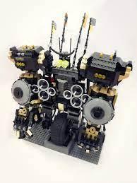 My take on Cole's Quake Mech : lego