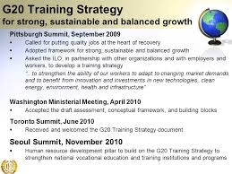 Training Strategy G20 Training Strategy Bridging Education Training And Decent Work