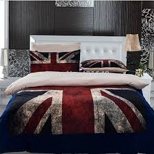 3pcs 4pcs uk flag bedding set twin full queen size usa flag duvet cover free via fedex in bedding sets from home garden on aliexpress com