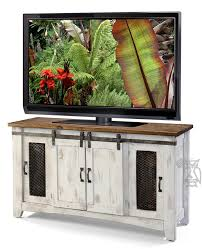 tv cabinets with sliding doors stunning ifd solid pine white pueblo 60 tv stand home ideas