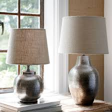uncategorized hammered metal table lamp large lamps uk pot 33 hammered metal table lamp