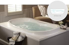 aquatic estate collection universal oval whirlpool tub