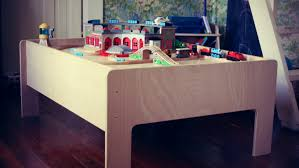 modern tots home of the modern train table large wall letters