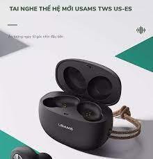 Hàng Mời) Tai Nghe Bluetooth thế hệ mới USAMS TWS US-ES v5.0 - BẢO HÀNH 12  THÁNG - 1 ĐỔI 1