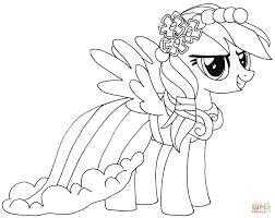 25 Nieuw My Little Pony Rainbow Dash Kleurplaat Mandala Kleurplaat