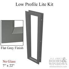 commercial metal door light frames