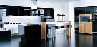 Small Picture Kitchen Best Examples Of Kitchen Modeling Endearing White Black