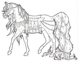 Small Picture Free Printable Horse Coloring Pages For Adults coloring pages