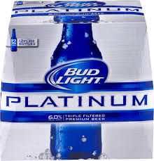 Bud Light Platinum 2018 Bud Light Platinum 12oz 12pk Bt