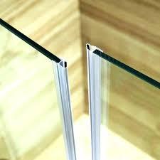 how to replace shower door seal door rubber seal bottom front
