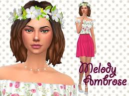Melody Ambrose - The Sims 4 Catalog | Sims, Melody, Sims 4