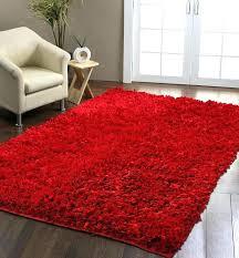 large red rug red plush rug excellent comfort area rug 5 x 8 regarding red large red rug