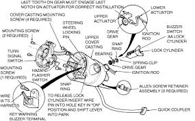 ignition switch actuator pin repair installation video images fig repair guides steering ignition lock cylinder autozonecom