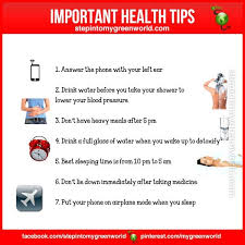 Health Tips Chart Important Health Tips Health Health Nutrition Health Tips