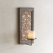 wall sconces with candles