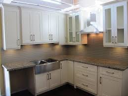 white shaker kitchen cabinets with granite countertops. Home Depot White Shaker Cabinets Granite Countertops Kitchen With S