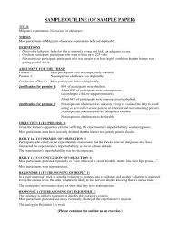 011 How To Write Thesis Outline For Research Paper Template