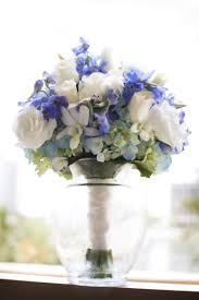 One Of The Best Examples Of A Blue And White Bouquet I Have Ever