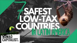 the safest low tax countries in central