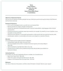 Email Resume Sample Address Format Resume Sample Format For