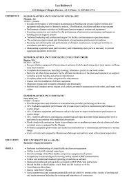 Senior Maintenance Mechanic Resume Samples Velvet Jobs